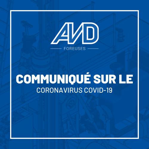 covid-19 avd