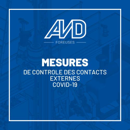 mesures controles contacts covid-19 avd