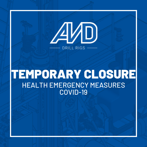 temp closure avd covid-19