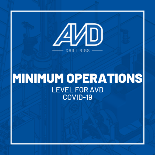 minimum operations avd covid19